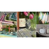 Garden Tablecloths, Napkins, Bunting